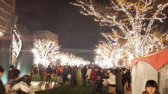 12/12みなと大通り公園イベント